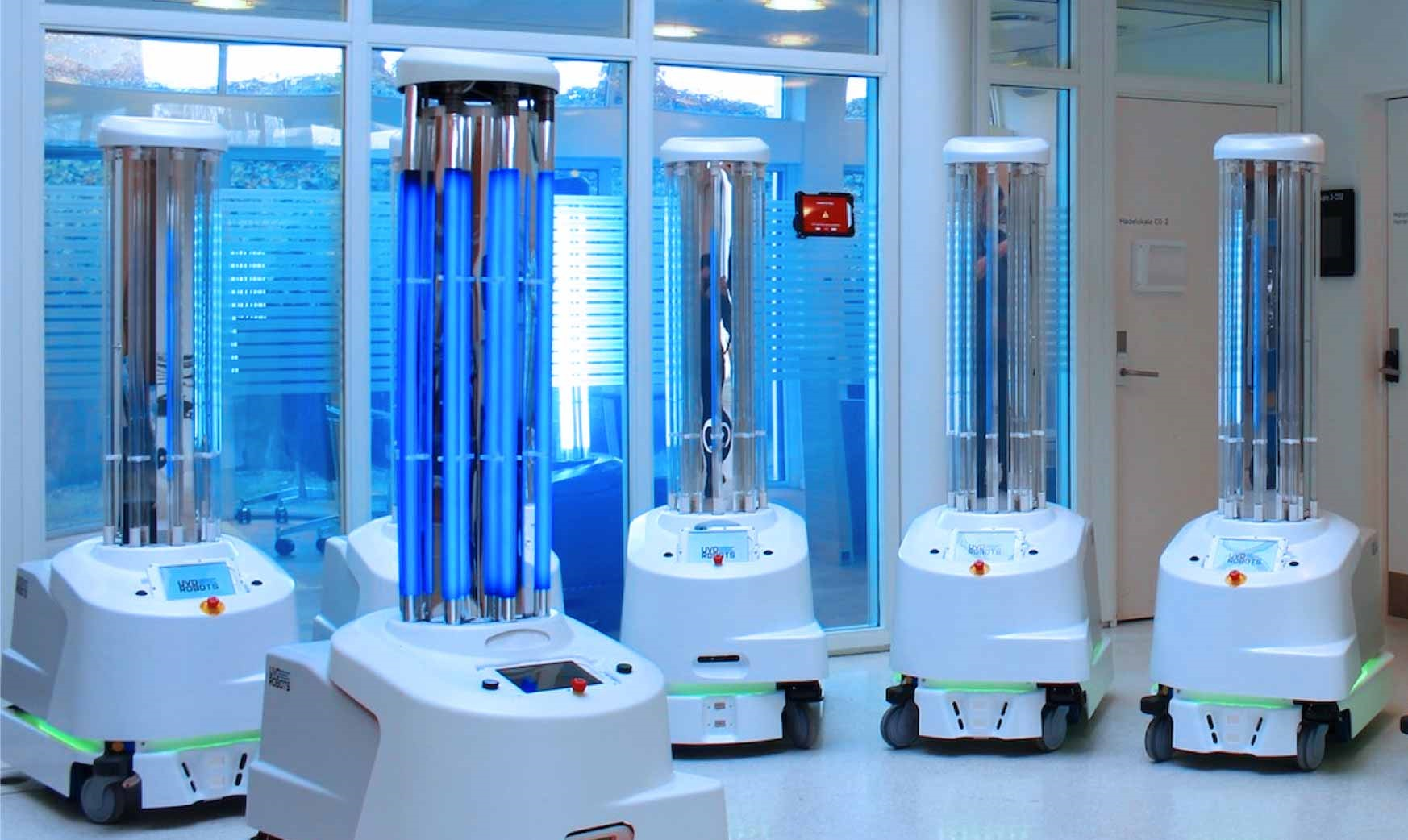 Cleaning And Disinfection Robots
