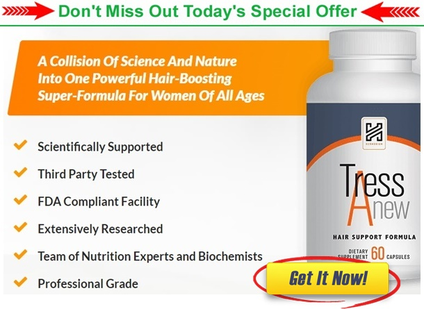 TressAnew Reviews (SCAM ALERT) – HARMONIUM Tress Anew Hair Supplement Really Work? – Business